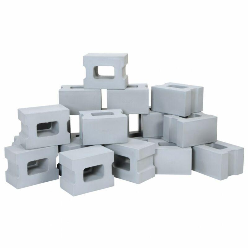 Kaplan Early Learning Foam Cinder Block Builders  - Set of 20