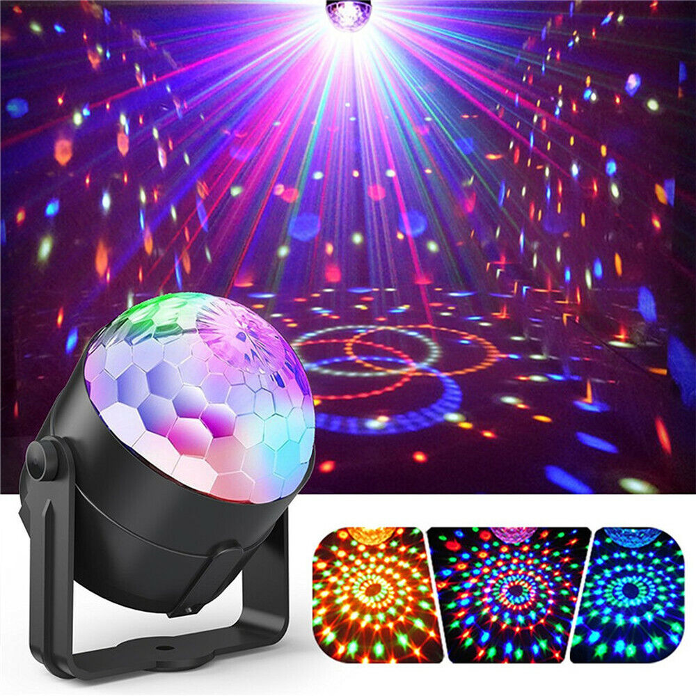 rgb disco party light led stage ball