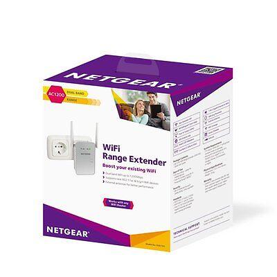 Netgear AC1200 Wi-Fi Range Extender Dual Band Gigabit (EX6150-100NAS)