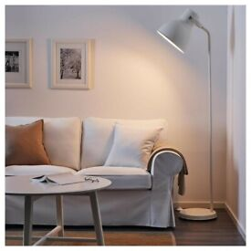 IKEA Hektar Floor Lamp White - Used But Very Good Condition