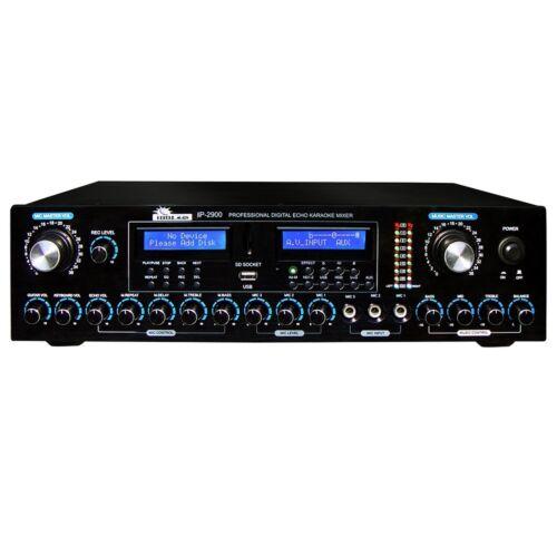 IDOLMain IP-2900 Professional Karaoke Mixer w Vocal Enhancer/HDMI/Bluetooth