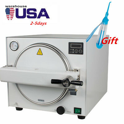 18l Medical Sterilization Lab Equipment Dental Autoclave Steam Sterilizer Usa