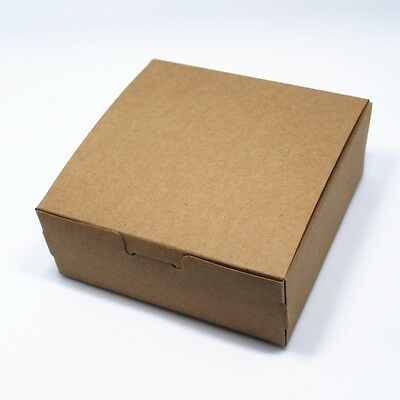 Foldable Brown Kraft Paper Gift Box Paperboard Shipping Moving Boxes For Wedding
