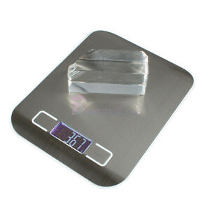 New 5KG/1G Digital LCD Electronic Kitchen Weight Scale Diet Food