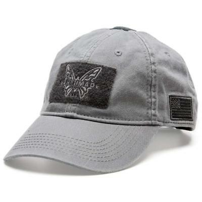 brand new 52348 32f50 Benchmade Grey Tactical Promo Hat, 50015-GRY