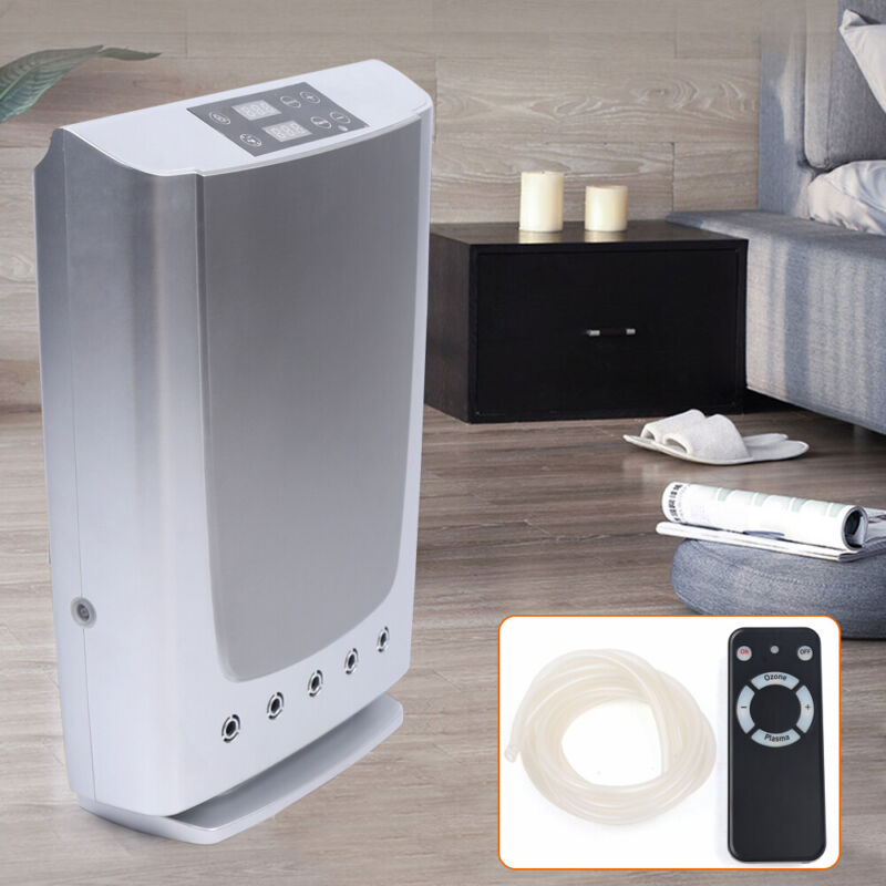 Indoor Air Purifier Ozone Generator Negative Plasma Generator Cleaner & Control