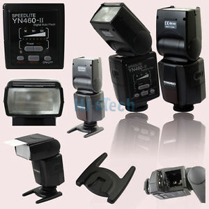 Yongnuo YN460 II Flash Speedlite for Canon  500D 450D 400D 350D 300D