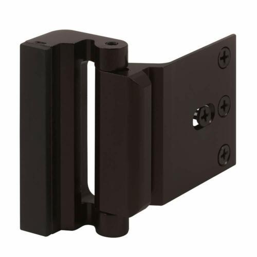 Defender Security Door Reinforcement Lock – Add Extra, High Security - Bronze