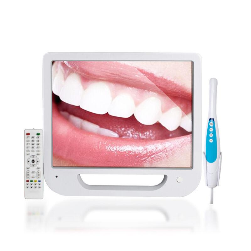 """17"""" Digital Monitor 5 Mega Pixels Dental Oral Intraoral Camera 1280*1024 6 LED"""