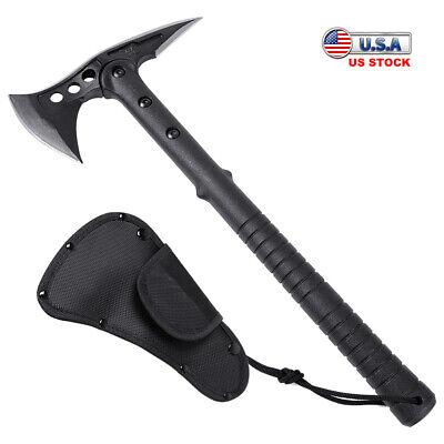 Stainless Steel Outdoor Survival Hatchet Tactical Tomahawk Throwing Axe 16 inch