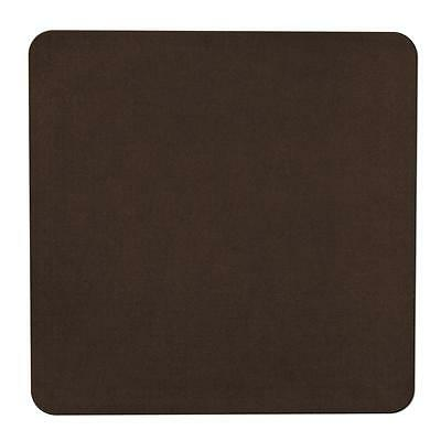 Skid-resistant Carpet Area Rug Floor Mat - Chocolate Brown -