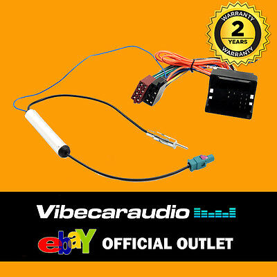 807 407 Aerial For Peugeot 207 3008 CT20PE03 Wiring Harness Adaptor ISO Loom