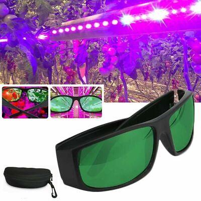 Schutzbrillen LED Wachsen Licht Anti UV IR Color Correction Grow Glasses Gläser