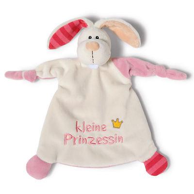 """NICI Schmusetuch 40042 - NICI Schmusetuch Hase """"Kleine Prinzessin"""" - 25x25cm"""