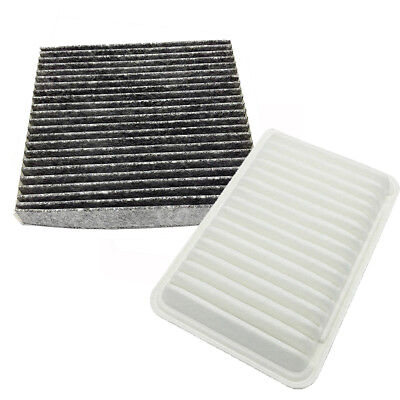 Engine & Cabin Air Filter Set For Toyota Camry L4 07-17 & Venza L4 09