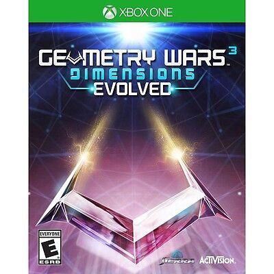 Geometry Wars 3 Dimensions Evolved Microsoft Xbox One Game NEW