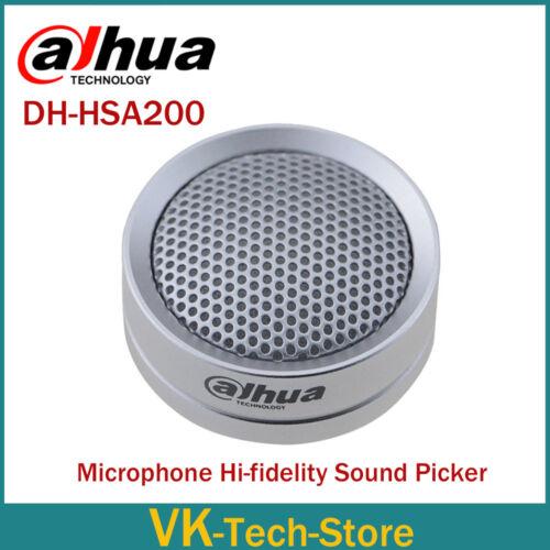 Dahua Audio Pickup Microphone Hi-fidelity Sound Picker for Dahua Hik IP Camera