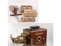 Wanted Magic lantern and sterioscope with cards