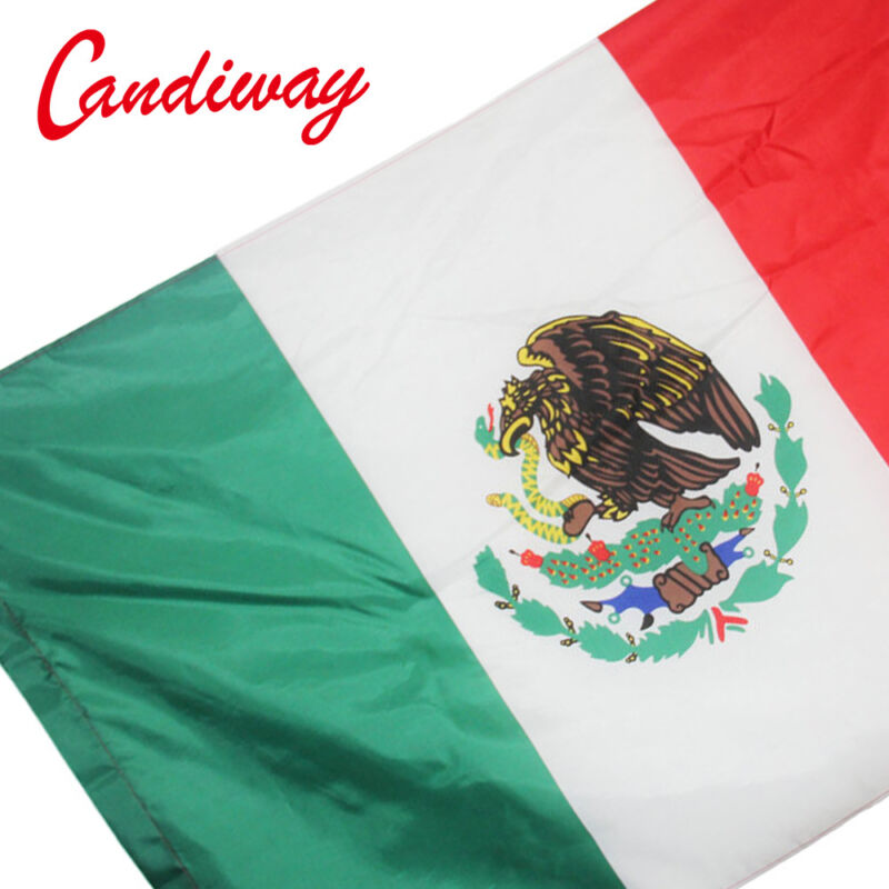 Mexico flag 90*150 cm Banner Mexican country Mexicanos flag National flags