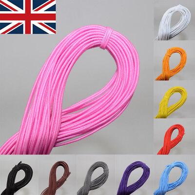 UK Elastic Stretchy Beading Thread Cord Bracelet String Jewelry Making DIY 25m