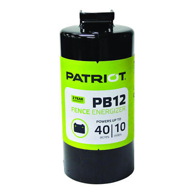 Patriot - Pb12 Battery Energizer - 0.12 Joule For Electric Fence