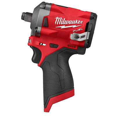 Milwaukee M12 2555-20 12-Volt FUEL 1/2-Inch Stubby Impact Wrench - Bare Tool