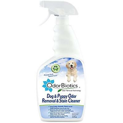 Pet Stain & Odor Remover  Eliminate Urine Smell on Carpet, Rugs 32 oz Spray