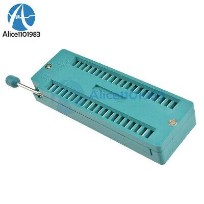2pcs Multi-function Universal 40p 40pin Zif Zip Dip Ic Test Tester Board Socket