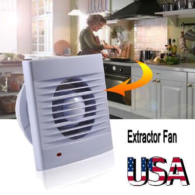 Bathroom Kitchen Toilet Extractor Exhaust Fan Blower Window Wall Ventilation US
