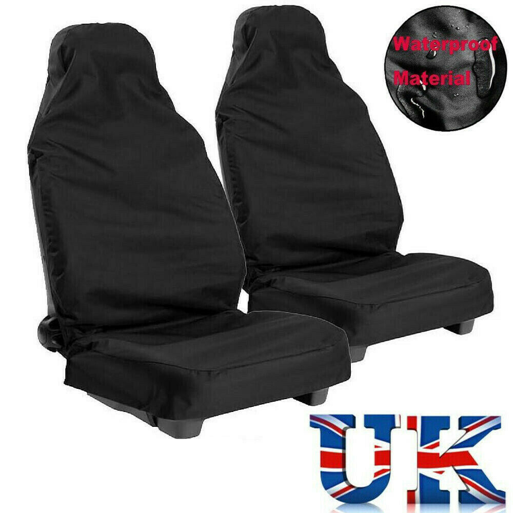 Van Front Seat Covers 2X Universal Heavy Duty Car Protectors Durable UK
