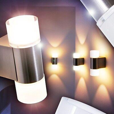Design Wandlampe LED Wohn Zimmer Lampen Flur Leuchten Wandleuchte mit Schalter