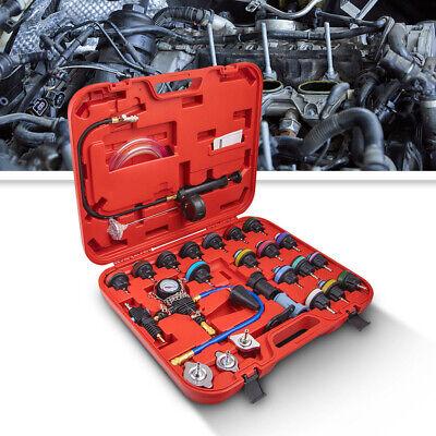 28pcs Universal Radiator Pressure Tester Vacuum Type Cooling System Tool Kit