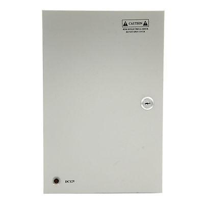 18CH Security Camera Power Supply Box DC 12V 10A Distribution for cctv System