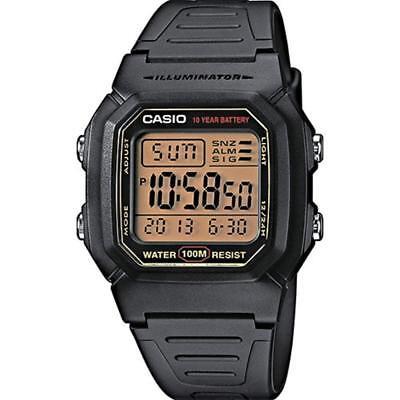 Casio Digital Herrenuhr Classic Herren Armbanduhr Uhr für Männer schwarz NEU