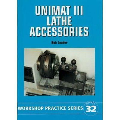 Unimat Torno Accesorios Libro Wps 32 Modelo Ingeniero