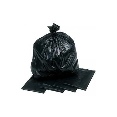black refuse sacks
