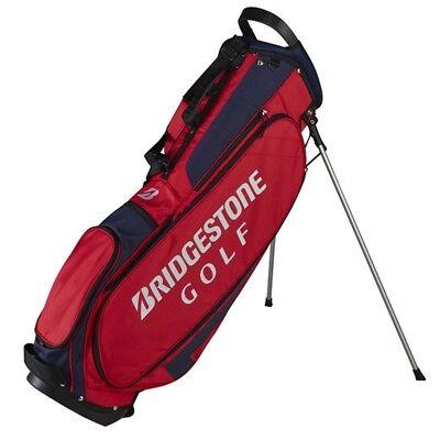 NEW Bridgestone Golf Lightweight Stand / Carry Bag 4-way Top