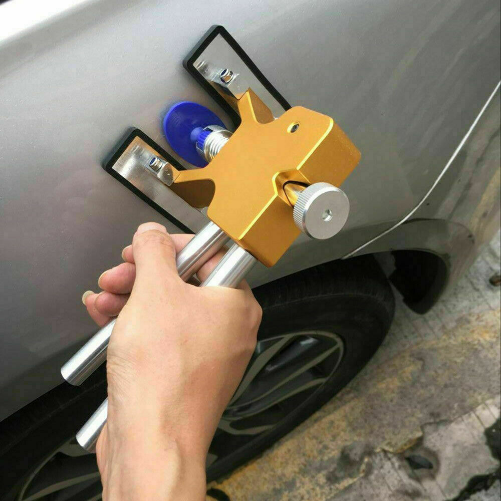 Car Paintless Dent Repair Dint Hail Damage Remover Puller Lifter 18 Tab Tool Kit