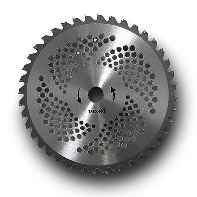 40 Zahnblatt Aluminium Schneidblatt Klinge Mähmesser Motorsense Freischneider
