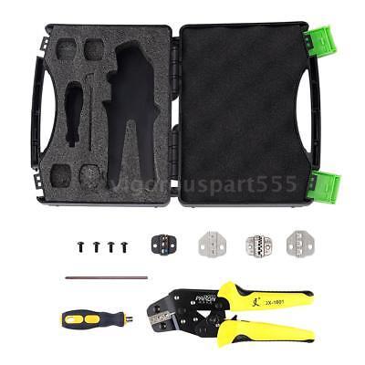 Paron Jx-ds5 Pro Wire Crimper Tool Kit Crimping Pliers Cord End Terminals G5f8
