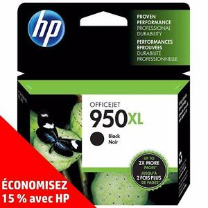 artouches d'encre noire et de couleur d'origine HP 950/951 – Achetez-en deux, économisez 15 %