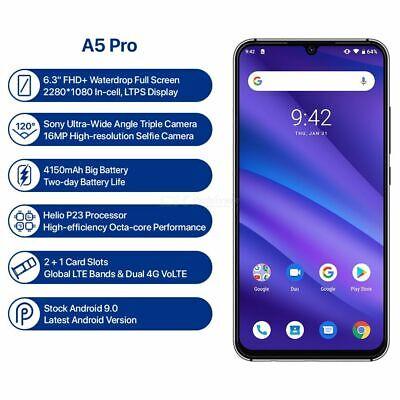 """UMIDIGI A5 PRO 6.3""""FHD+16MP Triple Camera 4150mAh 4GB Celular Smartphone-US Plug comprar usado  Enviando para Brazil"""