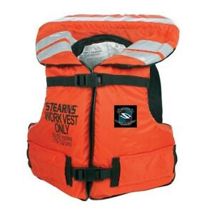 NEW WORK MASTER VEST Condtion: New, ORANGE