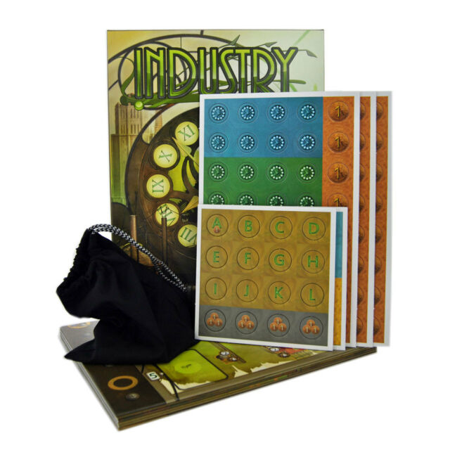 INDUSTRY THE MANAGEMENT STRATEGY BOARD GAME RIO GRANDE YSTARI BRAND NEW BOX 10+