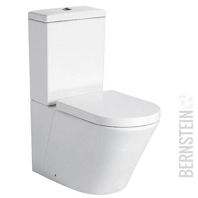 Stand-WC mit Spülkasten CT1088 - inkl Soft-Close-Deckel