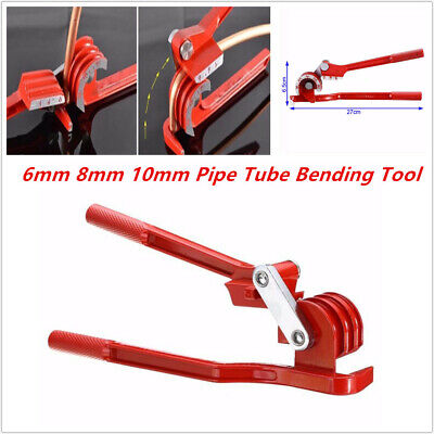 6mm 8mm 10mm Pipe Bending Tool Tube Bender Car Hose Brake Fuel Line Plier Superb