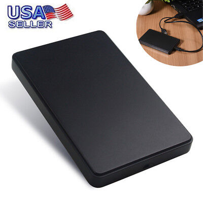 USB3.0 1TB External Hard Drives Portable Desktop Mobile Hard Disk Case US Stock
