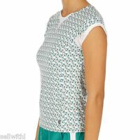 Women's K-swiss 66 Cap Sleeve Top - Multi Print - Size Small - 10 - k-swiss - ebay.co.uk