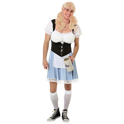 Funny Halloween Costumes Male (Busty Bavarian Men's Halloween Costume - Funny Male Oktoberfest)