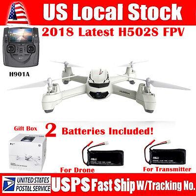 sHubsan X4 H502S FPV Drone GPS Altitude Mode RC Quadcopter 720P CAM Headless RTF